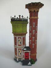 """Dept 56 Dickens' Village Lighted Bldg 58708 """"Notting Hill Water Tower"""" 2003 Gcib"""