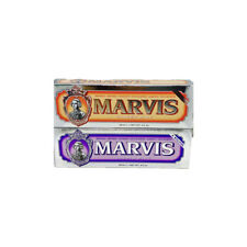 Marvis Toothpaste Double Pack / Ginger Mint & Jasmin Mint / 85ml Each One