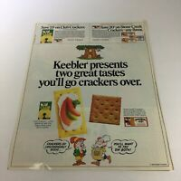 VTG Retro 1985 Keebler Stone Creek Cracked Wheat Crackers Print Ad Coupon