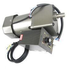 60W 90W 120W Single-phase speed regulating motor AC220V metal gear geared motor