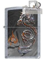 Zippo 3538 Dragon and Flame Lighter with PIPE INSERT PL