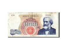 Billets, Italie, 1000 Lire type Verdi #305069