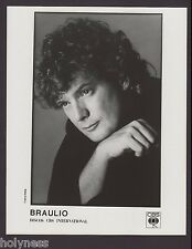 VINTAGE B&W  PRESS PHOTO / BRAULIO / 1990's / #1