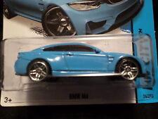 HW HOT WHEELS 2015 HW CITY #24/250 BMW M4 HOTWHEELS BLUE