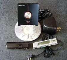 KENWOOD DMC-T55 Portable MiniDisc Player charge stand remote AA pack Working