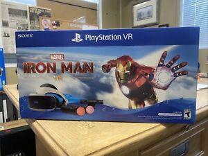 Sony PlayStation VR Marvel's Iron Man VR Bundle Brand New Unopened!