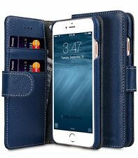 Melkco Leather Case for Apple iPhone 7 PLUS (5.5'') - WALLET BOOK DARK BLUE H146