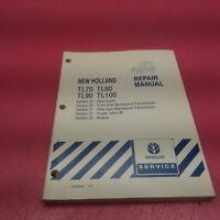 NEW HOLLAND TRACTOR REPAIR MANUAL TL70, 80, 90,100 SEC 23, 25, 27, 31, 33(LT236)