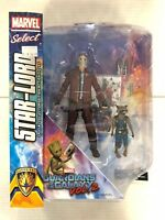 Marvel Select Guardians of the Galaxy Star-Lord Figure Diamond Select 2017
