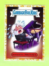 2017 GARBAGE PAIL KIDS BATTLE OF THE BANDS 4A/21 MOURNFUL MICHAEL GOLD #40/50