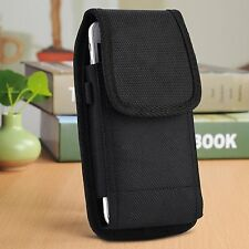 Large Oversize Samsung Galaxy S8 Plus Vertical Smart Phone Case Pouch Belt Loop
