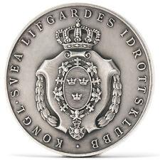 Medaille Schweden Silber um 1930 Svea Leibgarde Sporttverein Sweden Medal
