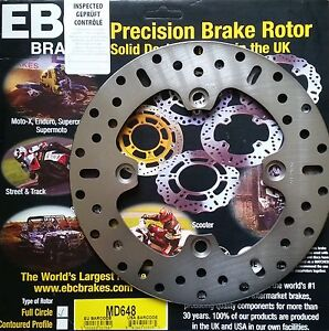 EBC/MD648 Brake Disc (Rear) for Triumph Daytona 600/675/955, Street/Speed Triple