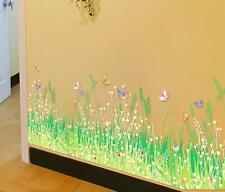 Corner Line Flower Room Decor Removable Wall Sticker Decal Decoration Wandtattoo