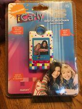 Nickelodeon Icarly Digital Keychain Photo Frame Sealed Sakar USB Holds 107 Pics