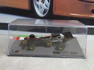 1972 LOTUS 72D - E FITTIPALDI - 1/43 scale model car - PANINI F1 CAR SERIES 05