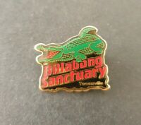 BILLABONG SANCTUARY TOWNSVILLE Australian Enamel Lapel Souvenir Pin Badge