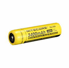 NiteCore NL189 NL1834 Protected 3.7V 3400mAh 18650 Rechargeable Li-ion Battery