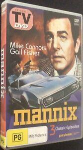 Mannix - DVD - PAL - Free Post