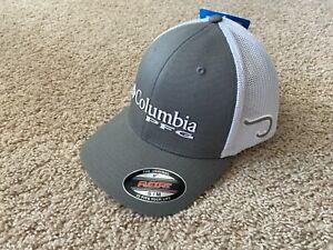 NEW Columbia PFG Mesh Hooks Fishing Cap S/M