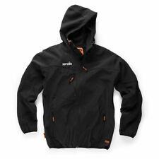 Scruffs Trabajador Chaqueta Softshell Negro (S-XXL Para Hombre Abrigo de Trabajo Comercio)