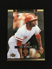 "JOE MORGAN ""SWEET SPOT""  RETRO UD COOPERSTOWN CINCINNATI REDS 2003 BASEBALL CARD"