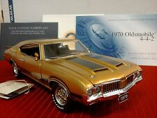 FRANKLIN MINT 1970 OLDSMOBILE 442..1:24..RARE COUPE..UNDISPLAYED..NEW