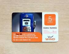 RICARICA TELEFONICA WIND - CON PIENO SMS RICEVI 3 CENT. OGNI SMS - 5,00 EURO