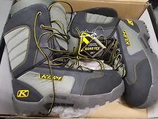 NOS Klim Radium GTX Insulated Gore Tex Waterproof Boots Blk Sz14 3212-002-014-00
