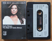 CARLY SIMON - THE BEST OF (ELEKTRA K452025) EUROPE CASSETTE TAPE EX COND