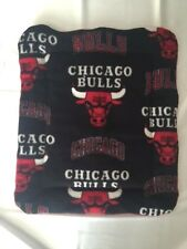 "Dog or Cat Bed - Chicago Bulls - Reversible - Washable -Size 17 1/2"" x 23"""