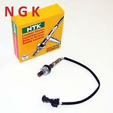 NGK 1726 FRONT + REAR LAMBDA OXYGEN SENSOR OZA641-A1 FOR FIAT 500 + FORD KA