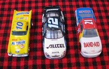 3 1/64 racecars~HotWheels 1977 Nesquik~HotWheels 1999 Alltel+Racing Champion1998