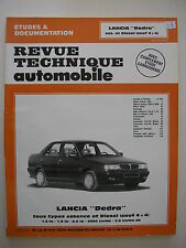 revue technique automobile RTA  LANCIA Dedra essence et diesel  sauf 4x4