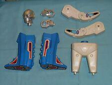vintage Mego Micronauts BIOTRON PARTS LOT #7 r+l arm leg fist crotch head