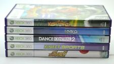 Microsoft Xbox 360 Kinect Lot - 5 Games - Dance, Leela, Sports more, Tested