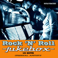 * ROCK AND ROLL JUKEBOX * 18 HITS * ORIGINAL ARTISTS *  NEW SEALED CD