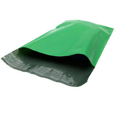 """10"""" x 13"""" Green Poly Mailers, Shipping Envelopes,2 Mil, 1000/Cs (1 Case)"""