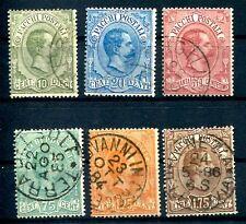 ITALIEN PAKET 1884 1-6 gest 250€(J1804