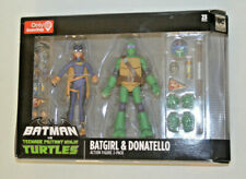 Batman Vs TNMT Batgirl & Donatello Set Only at Gamestop NIB Action Figures