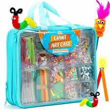 Giant Art Case Set of 1600+ Pc. Arts and Crafts Supplies for Kids 6+Diy Projects