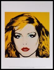 Andy Warhol Debbie Harry Poster Art Imprimé Image dans le cadre alu noir 36x28cm