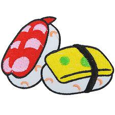 Sushi Japan Japanese Sashimi Fish Food Snack Children Kids Iron-On Patches #F036