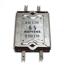 Siemens Selen-Zweifach-Gleichrichter für Röhren-Koffer-Radio: E15C250 + E150C30