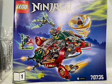 Lego Ninjago Ronin Rex 70735! Brand New Sealed Bags Set. Save - No Box! Retired