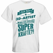 3D-Thema Herren-T-Shirts aus Baumwolle in normaler Größe