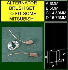 12 Volt Alternatore Spazzole PLUS saldatura per alcune unità MITSUBISHI JXDX11 140365