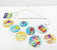 Premier Kites 81155 Glass Scrolls Wind Bells, Kites Outdoor Decoration T3