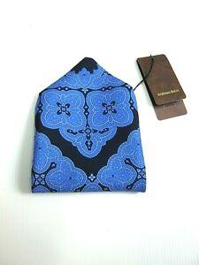 Luxury Stefano Clutch Bag Foulard New Silk Original - Made IN Italy