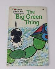 The Big Green Thing  Vintage Wonder Easy Reader Miriam Schlein